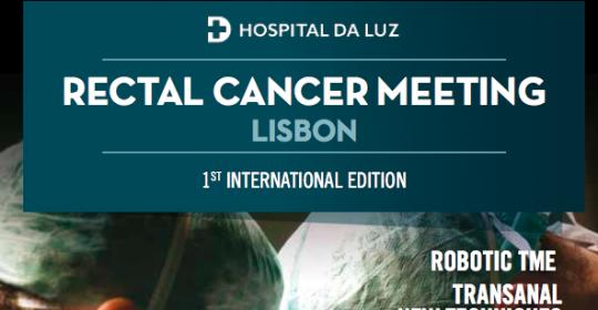 Rectal Cancer Meeting – 25-26 Junho Lisboa