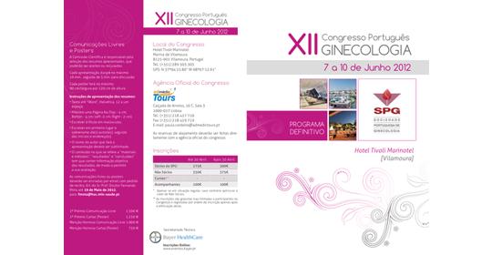 XII Congresso Português de Ginecologia