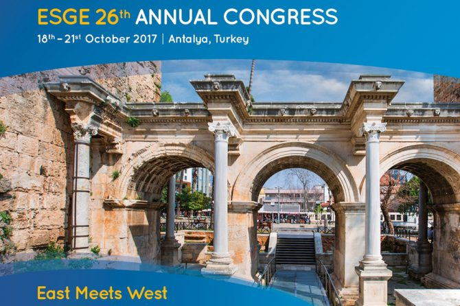 ESGE 26th Annual Congress Antalya, Turkey