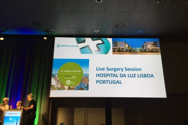 Live surgeries from Hospital da Luz July 2018