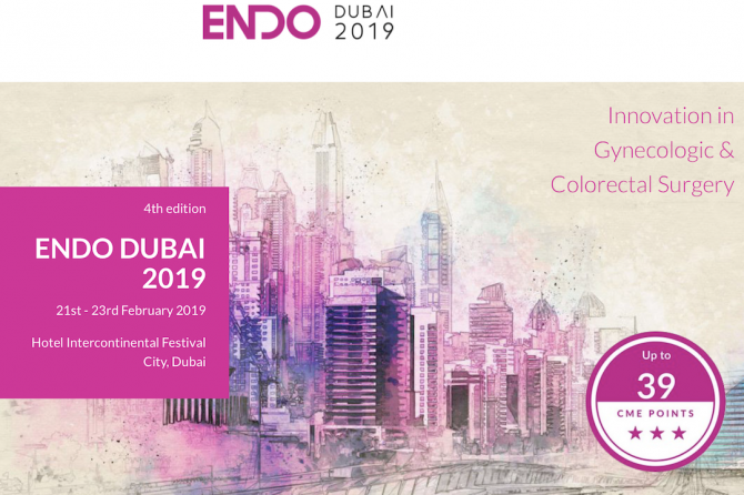 Endo Dubai 4th 2019