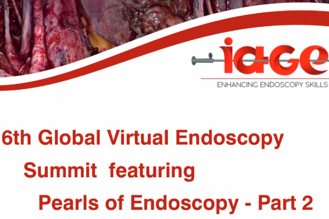 IAGE –  6th Global virtual Endoscopy Pearls of Endoscopy – Part 2